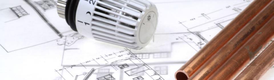 radiator en leidingen